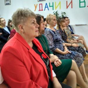 Торжественное собрание посвященное 45-летию со дня образования школы