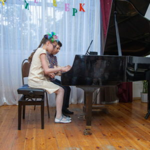 Отчетный концерт фортепианного отделения посвящённый юбилею школы