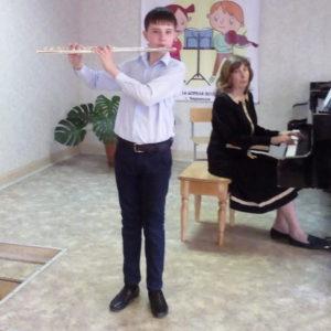 Второй тур VII Республиканского конкурса учащихся ДШИ КЧР отделений «Оркестровые инструменты»