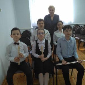 Первый тур VII Республиканского конкурса учащихся ДШИ КЧР отделений «Оркестровые инструменты»