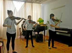 Первый тур V республиканского конкурса ансамблевого и оркестрового исполнительства учащихся