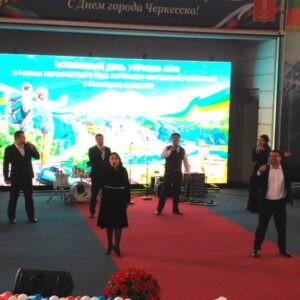 Преподаватели школы приняли участие в торжественном мероприятии, посвященном Всемирному дню туризма.