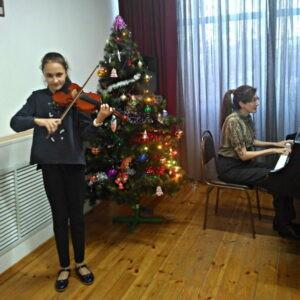 Академический концерт учащихся 2-4 классов