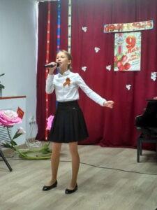 Концерт учащихся отделения эстрадного пения